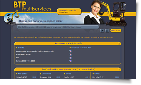 extranet du site internet btp-multiservices.fr